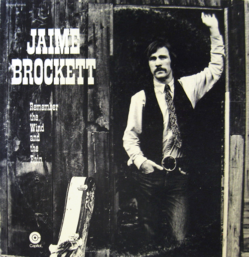 Jaime Brockett LP cover Remember the Wind and the Rain