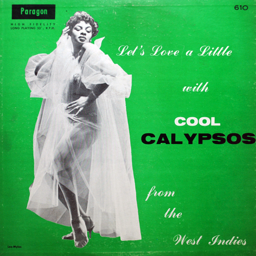 LP cover: Let's Love a Little with Cool Calypsos from the West Indies