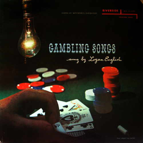 LP cover of Gamblins Songs sung by Logan English