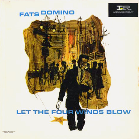 Fats Domino, Let the Four Winds Blow LP cover
