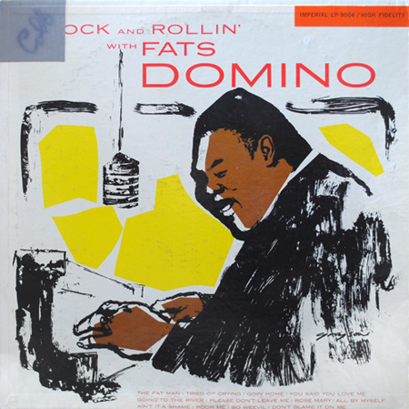 Rock and Rollin' with Fats Domino LP cover