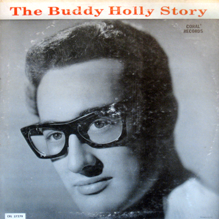 The Buddy Holly Story LP cover