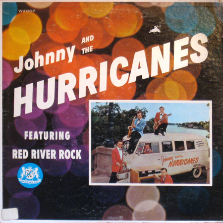 Johnny and the Hurricanes LP cover