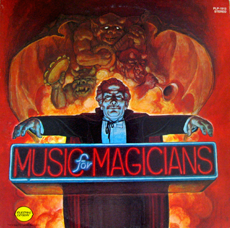 Album cover of Verne Langdon's Music for Magicians LP