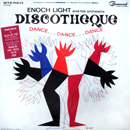 Enoch Light and his Orchestra DISCOTHEQUE featuring Killer Joe Piro instruction LP