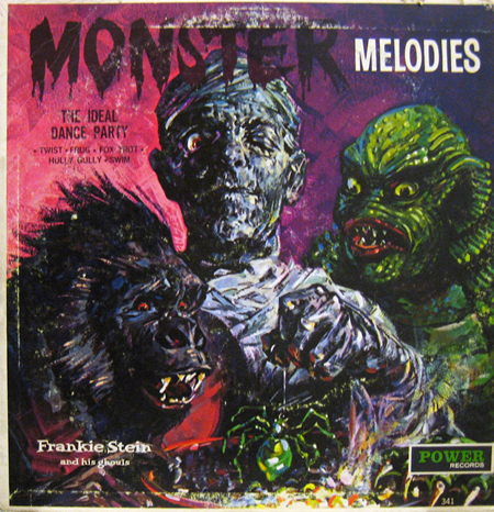 Monster Melodies LP album art